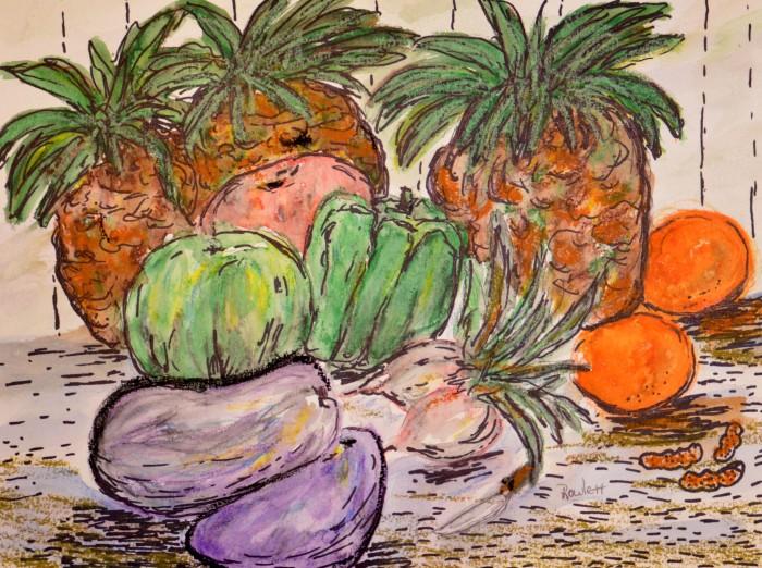Vegetable & Fruit Still life